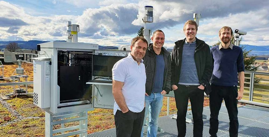 Proof of Concept Phase Team Swisens and MeteoSwiss